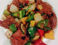 Beef with Oyster Sauce - The Gallery Restaurant