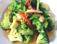 Stir-fried broccoli - The Gallery Restaurant