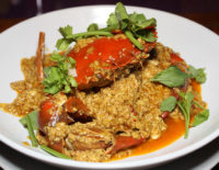 Crab in yellow curry - The Gallery Restaurant