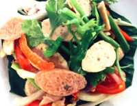 Chiang Mai Sausage Salad - The Gallery Restaurant