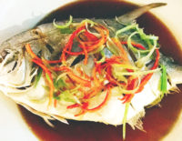 Steamed Sea Bass - The Gallery Restaurant