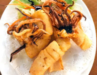 Fried Sun-Dried Squid - The Gallery Restaurant