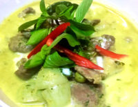 Green Curry with Beef - The Galle