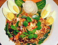 Banana flower salad - The Gallery Restaurant
