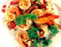 Prawns with Chilli and Salt - The Gallery Restaurant
