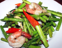 Stir-fried Asparagus - The Gallery Restaurant